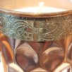 soy wax candle lassi copper cup handmade small