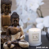 Luxescent Meditate by Sandalwood soy candle
