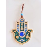 Hamsa hand wall decor hanging protection evil eye