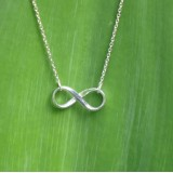infinity necklace 925 sterling